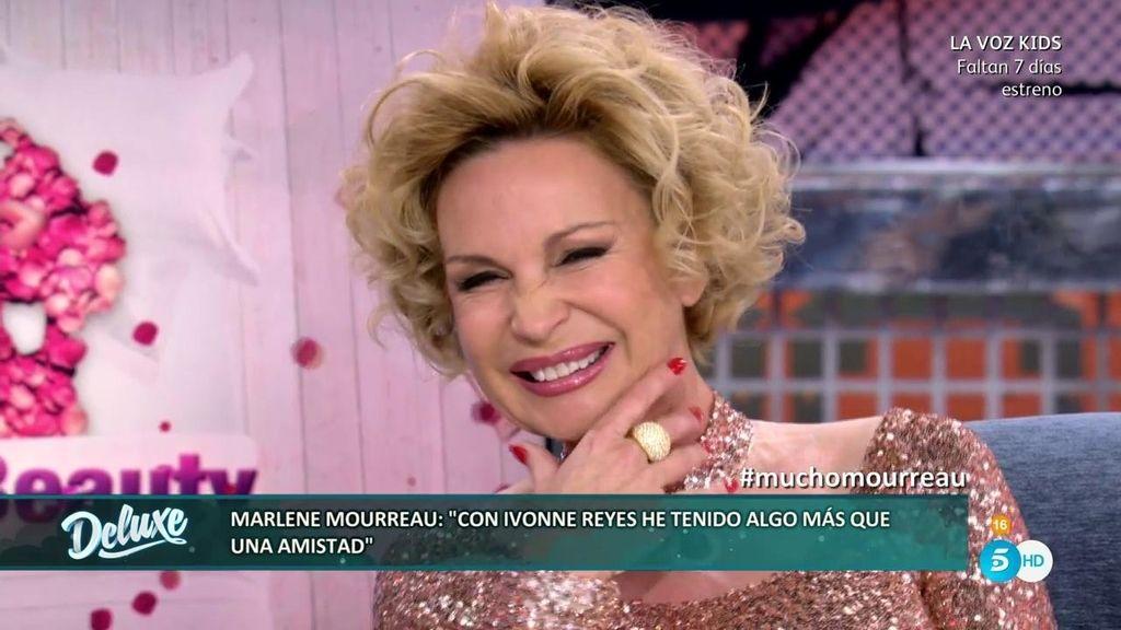 ¡Marlene Morreau confirma su relación íntima con Ivonne Reyes y piropea a María Patiño!