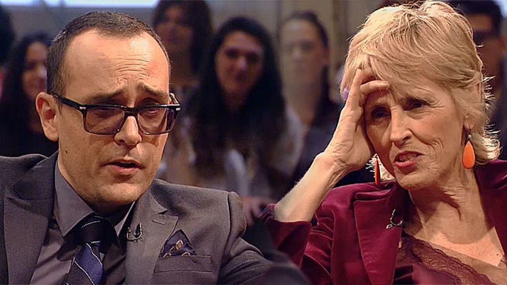 "Mercedes Milá, sobre la inminente boda de Risto: ""¡¿Estás loco o qué?!"""