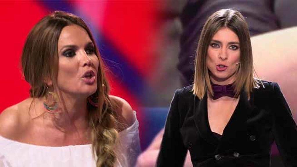"""Sandra Barneda, a Marta López: """"Qué tendrá que ver el ser mujer con ser maleducada"""""""