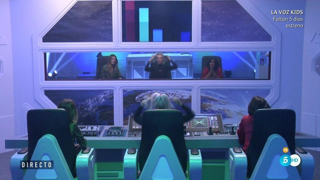 Los concursantes superan la prueba semanal y comienzan la próxima en el espacio