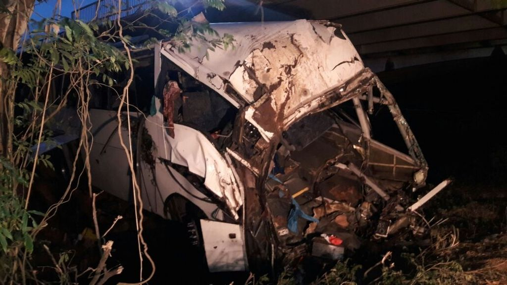 Accidente autobús Panamá