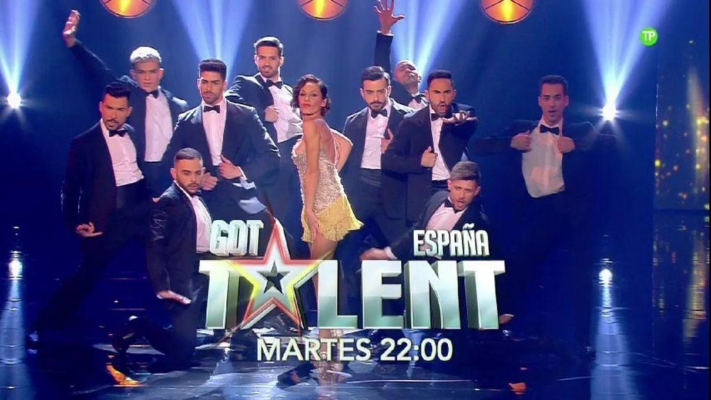 Segunda semifinal en directo de  'Got Talent España'