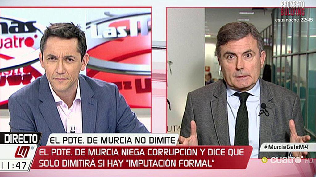 """Saura, sobre Pedro A. Sánchez: """"Queremos negociar una moción de censura pero no depende del PSOE, C's está diciendo no"""""""