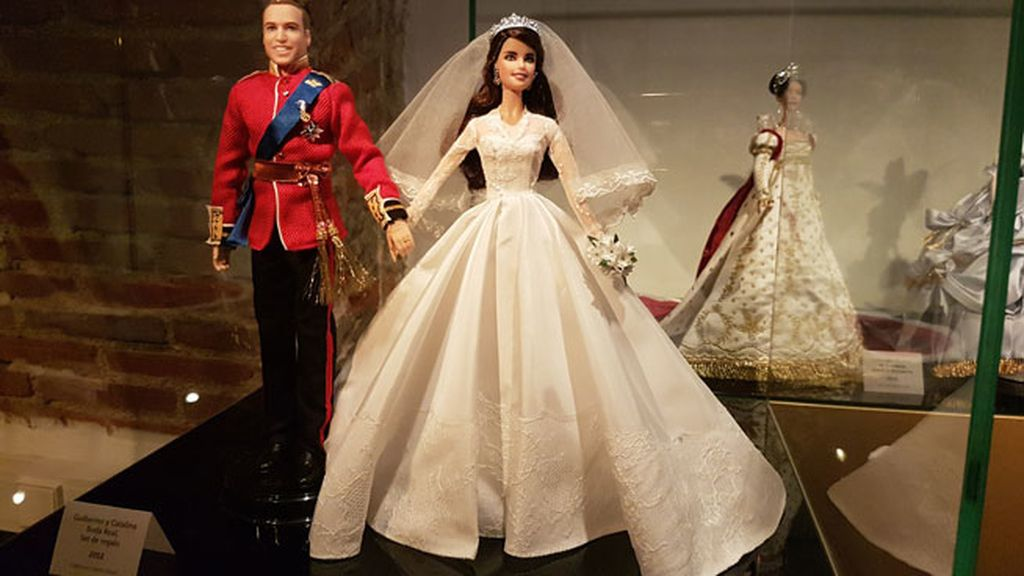 Barbie Audrey Hepburn, Cleopatra, Grace Kelly, Kate Middleton...