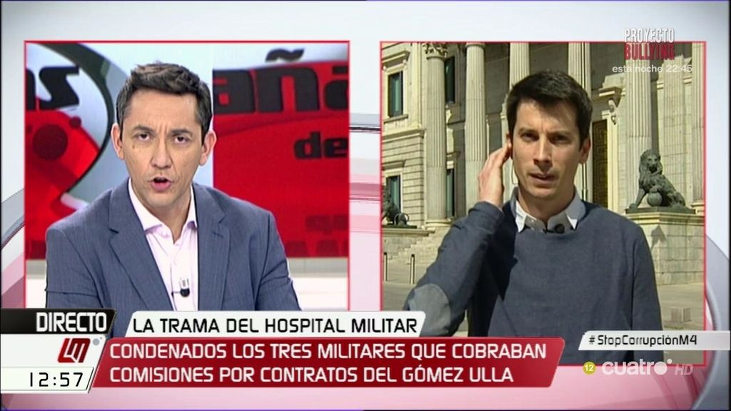 """""""Los condenados siguen en el ejército y a los que denunciamos corrupción, nos expulsan"""""""