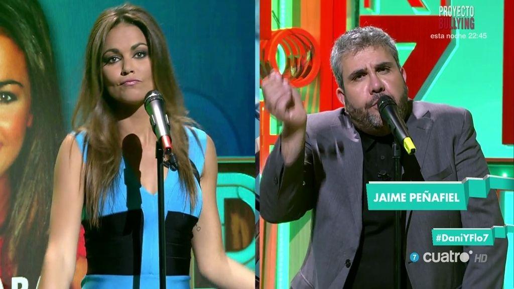Lara Álvarez canta con Yoda, King Africa y Jaime Peñafiel en el karaoke de 'Dani&Flo'