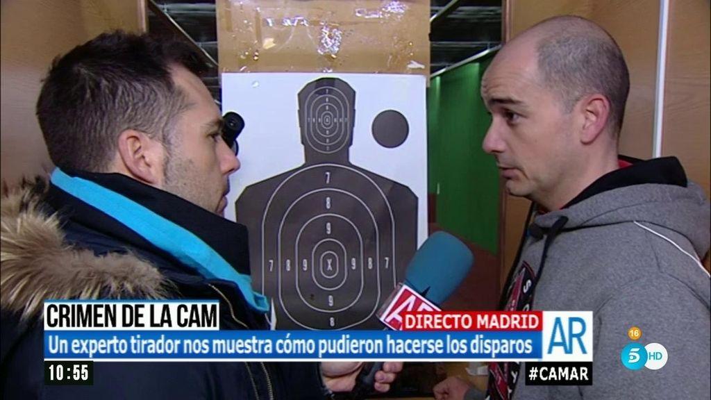 Crimen de la CAM: un experto recrea los disparos realizados por el asesino