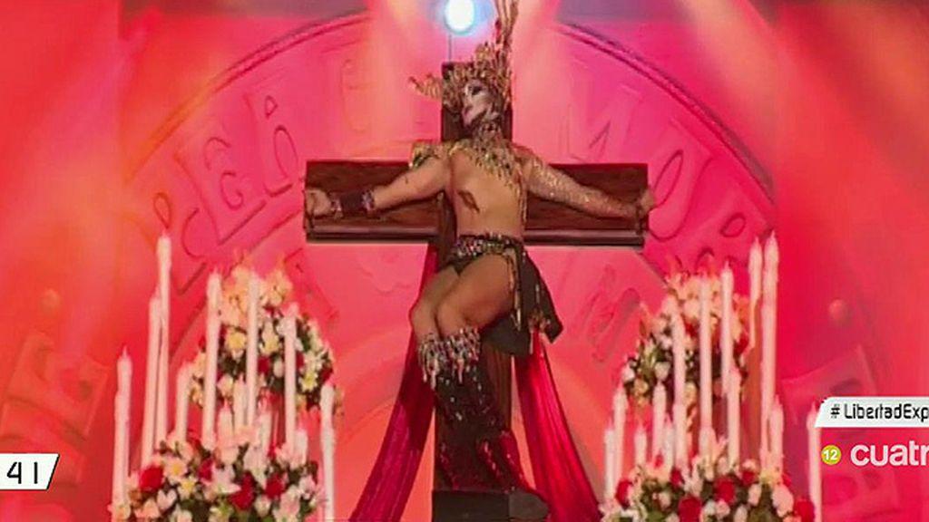 Fiscalía abre diligencias contra el drag canario que se vistió de Virgen