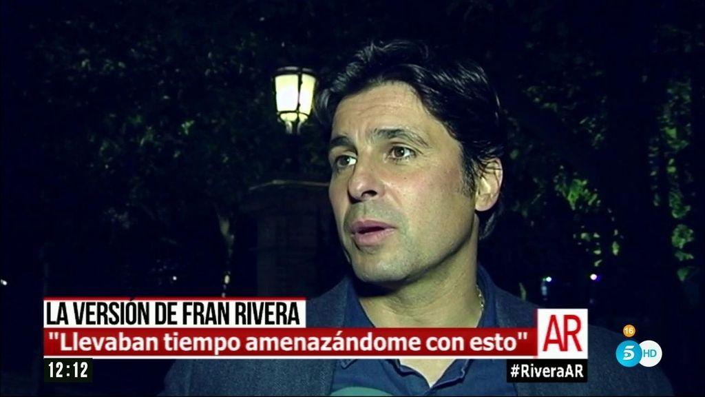 """Fran Rivera: """"Si de algo se me puede acusar, es de elegir mal a mis socios"""""""