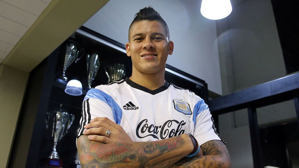 Marcos Rojo, jugador argentino de fútbol