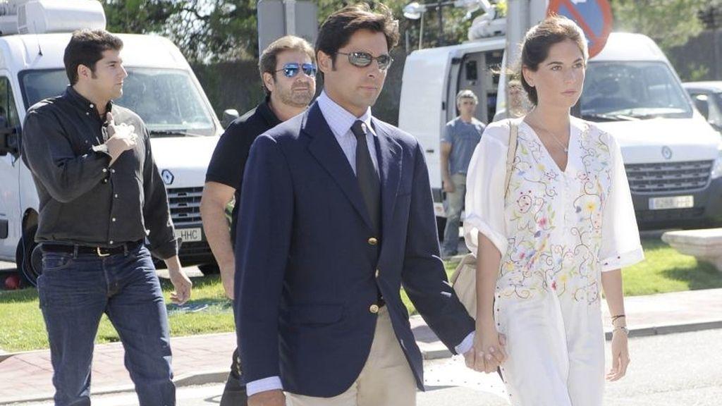 Francisco Rivera y su novia, Lourdes Montes