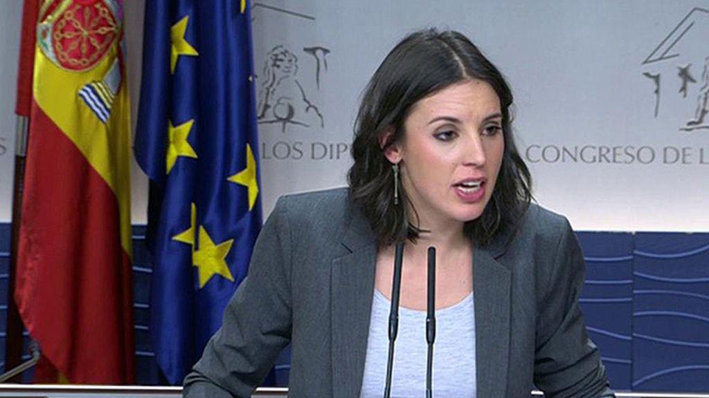 """Montero niega la polémica con la prensa: """"Por supuesto que no es verdad"""""""
