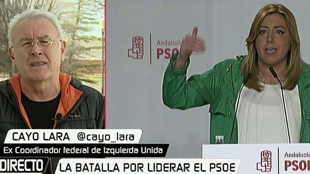 """C.Lara: """"Comparándolo con Susana Díaz, Sánchez camina en la buena dirección"""""""