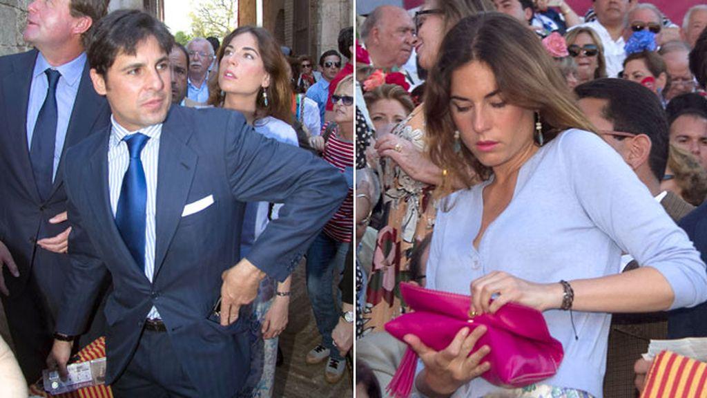La pareja disfruto del ruedo de Daniel Luque, El Cid y Morante de la Puebla