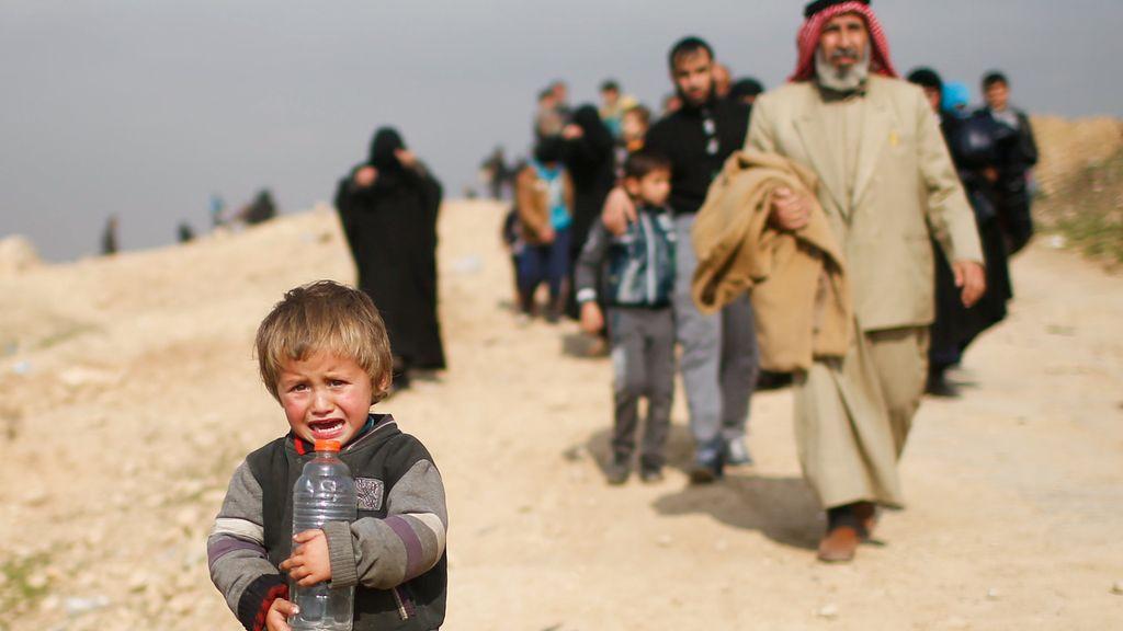 El drama de los desplazados en Irak