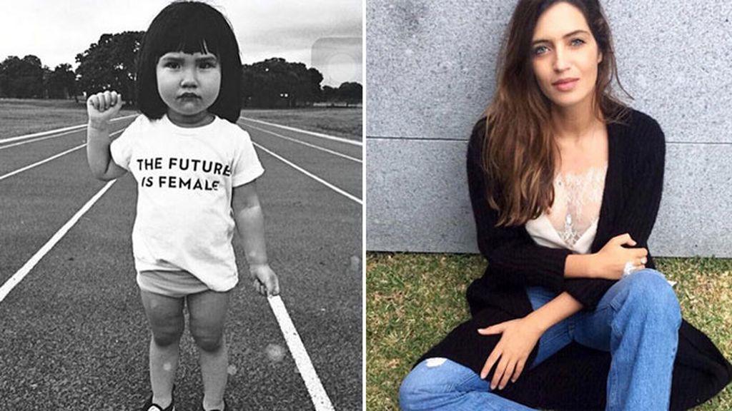 """Sara tiene claro el mensaje: """"El futuro es femenino"""""""