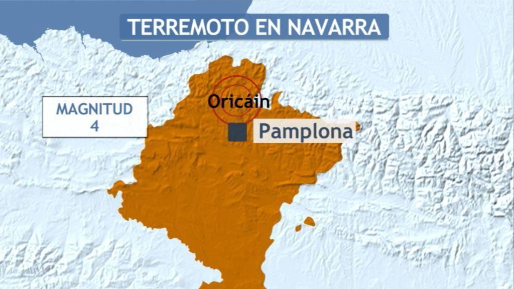 seismo Oricain,seismo Navarra
