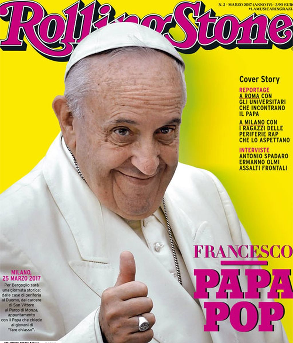 'Francisco, Papa Pop'