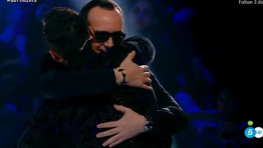 ¡Momentazo histórico! El reencuentro de Jesús Vázquez y Risto en 'Got Talent'