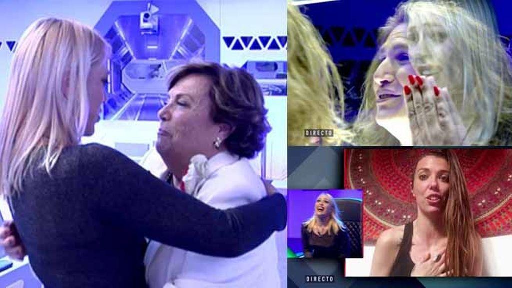 """La sorpresa de Daniela Blume: su """"hermana"""", su tía y su abuelita"""