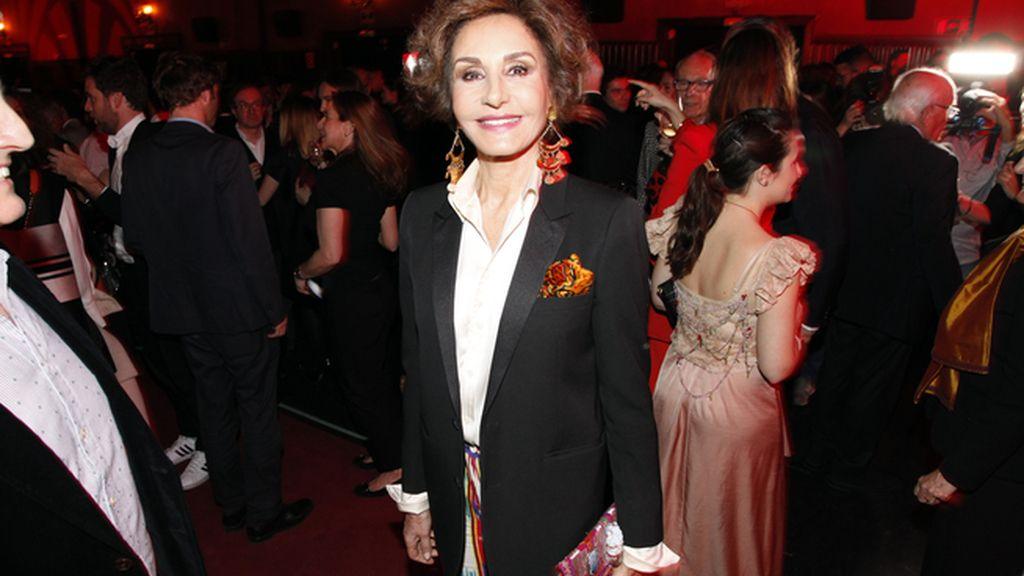 Naty Abascal, invitada de lujo en los Premios AD