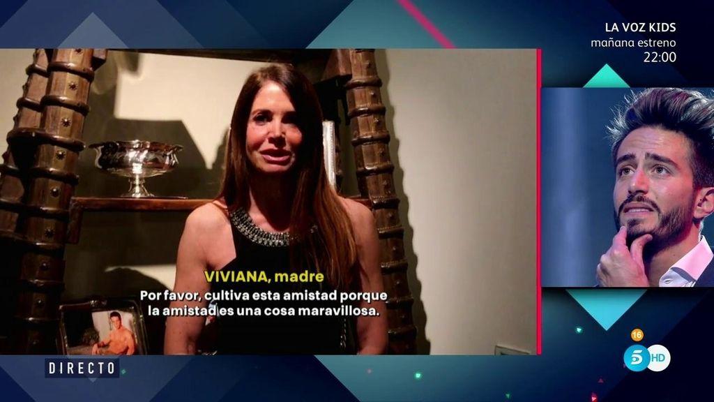 """Viviana, madre de Marco: """"Espero que seas tan feliz como los primeros días con Alyson"""""""