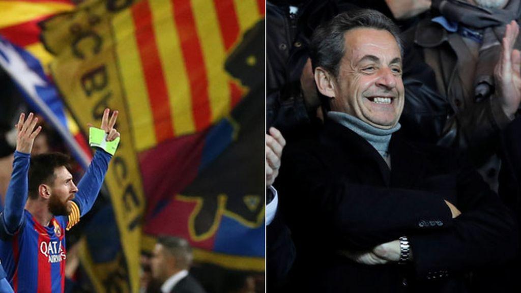 Nicolas Sarkozy, Champions, Barça
