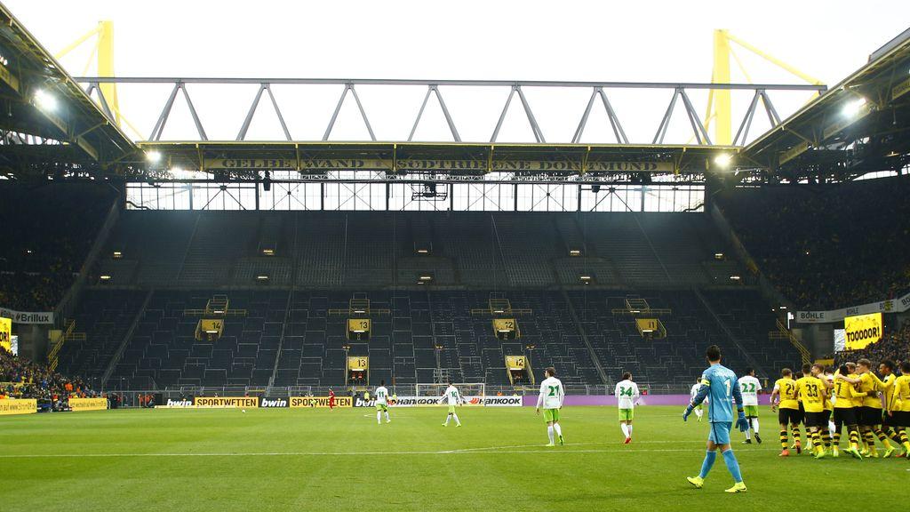 Grada Westfalenstadion de Borussia Dortmund
