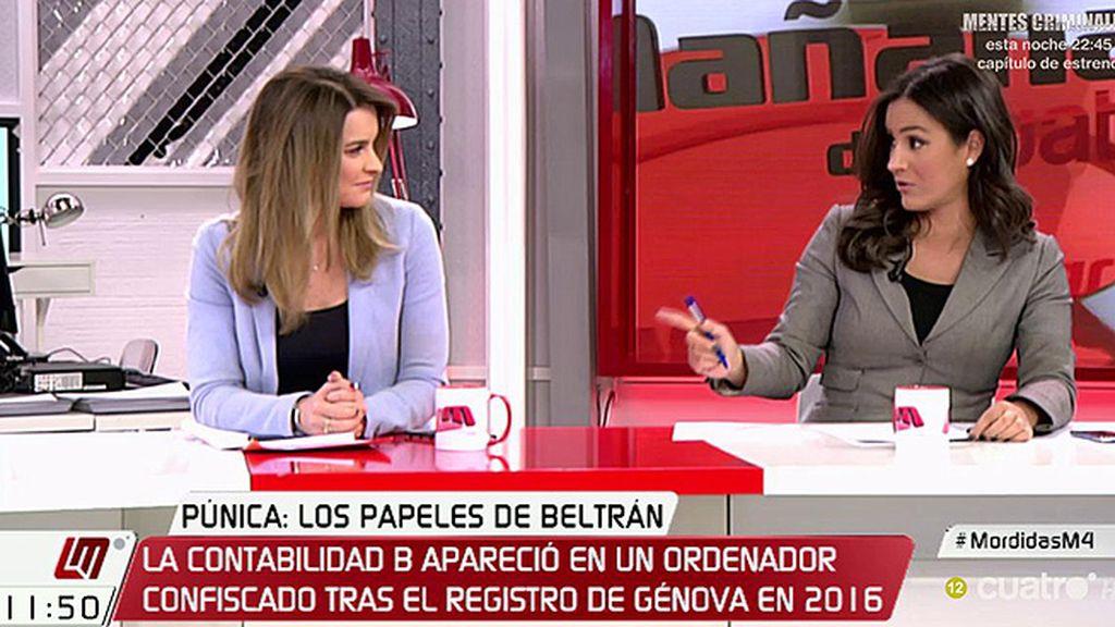 """Begoña Villacís, al PP: """"Cuando ponemos en marcha comisiones de investigación os inventáis trampitas"""""""