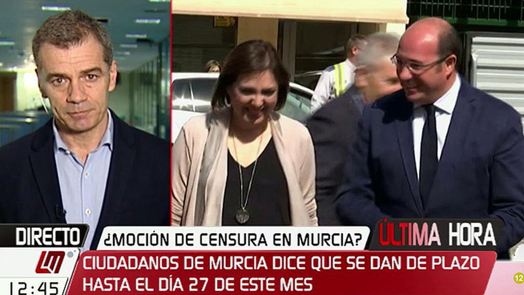 """Cantó, sobre Murcia: """"El mejor escenario es que el PP presente un candidato que no mienta"""""""