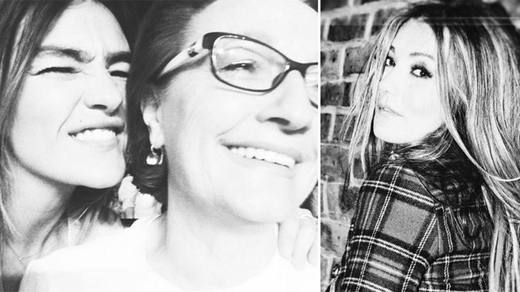 Amaia Montero y las dos mujeres de su vida