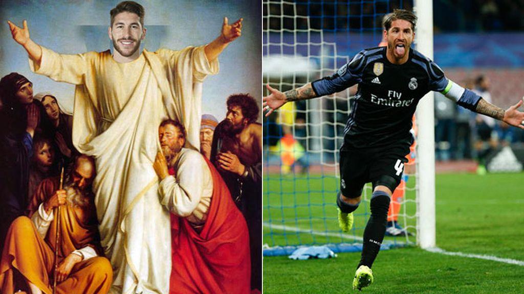 Sergio Ramos,Real Madrid,Nápoles,Champions