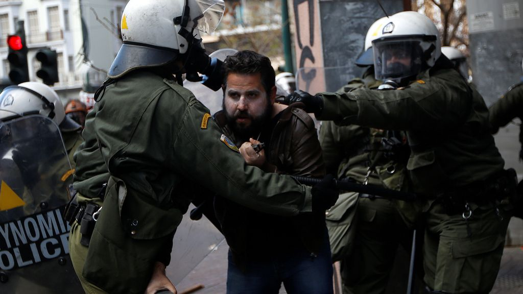 Protestas de los agricultores en Grecia