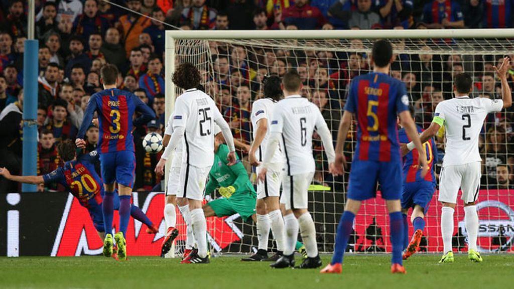Seis goles para la historia de un Barça épico que metió tres goles en diez minutos