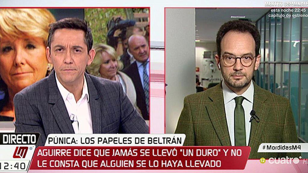 """A. Hernando: """"Si una ardilla se subiese a un árbol de la corrupción del PP, podría saltar de árbol en árbol por casi toda España"""""""