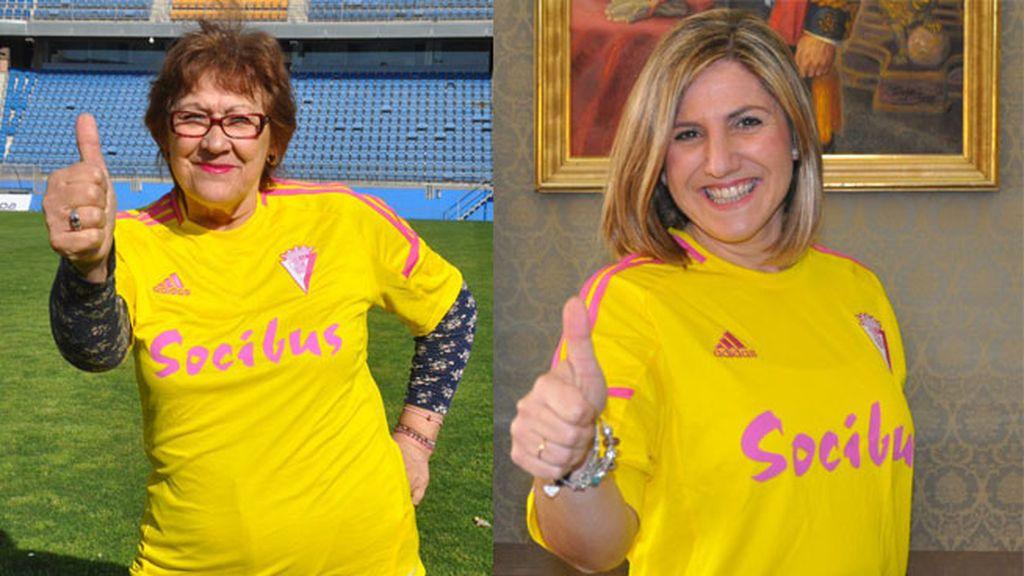 Camiseta Cádiz homenaje a la mujer
