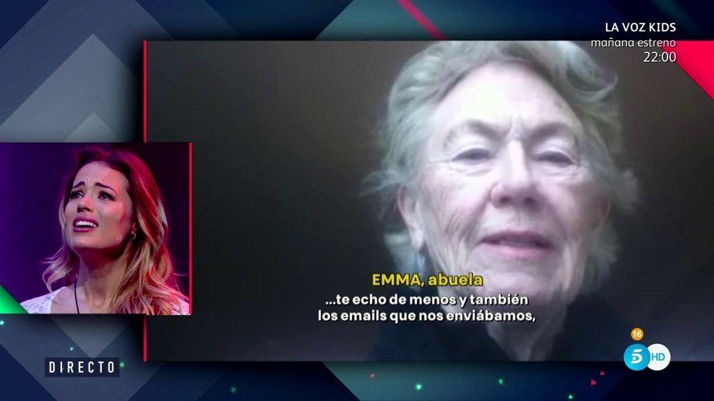 """Emma, abuela de Alyson: """"Siempre pienso en ti, en tus aventuras y en tus triunfos"""""""