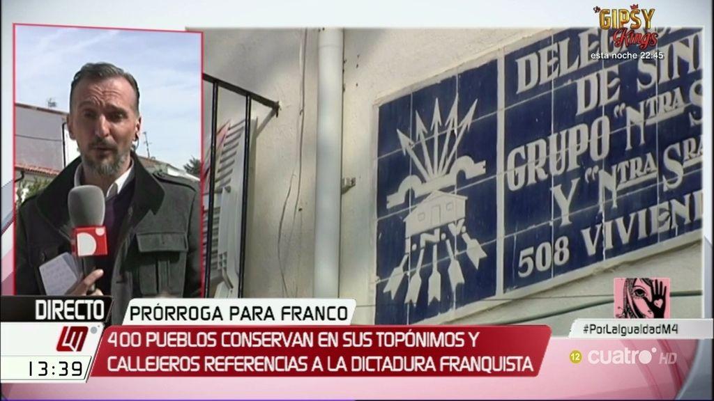 Ley de la Memoria Histórica: 400 municipios mantienen referencias franquistas