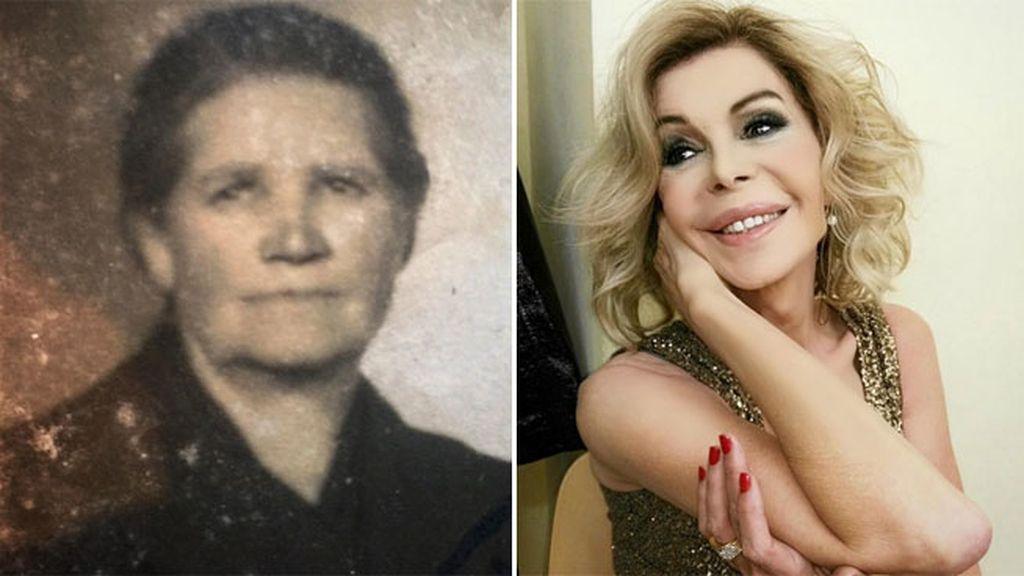 Bibiana Fernández recuerda a su abuela María