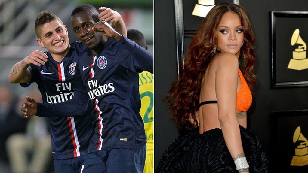 PSG, Barça, Champions, Rihanna