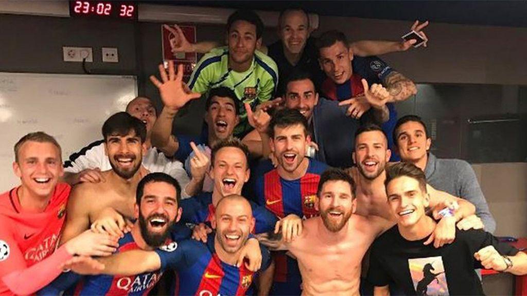 foto selfie Barça