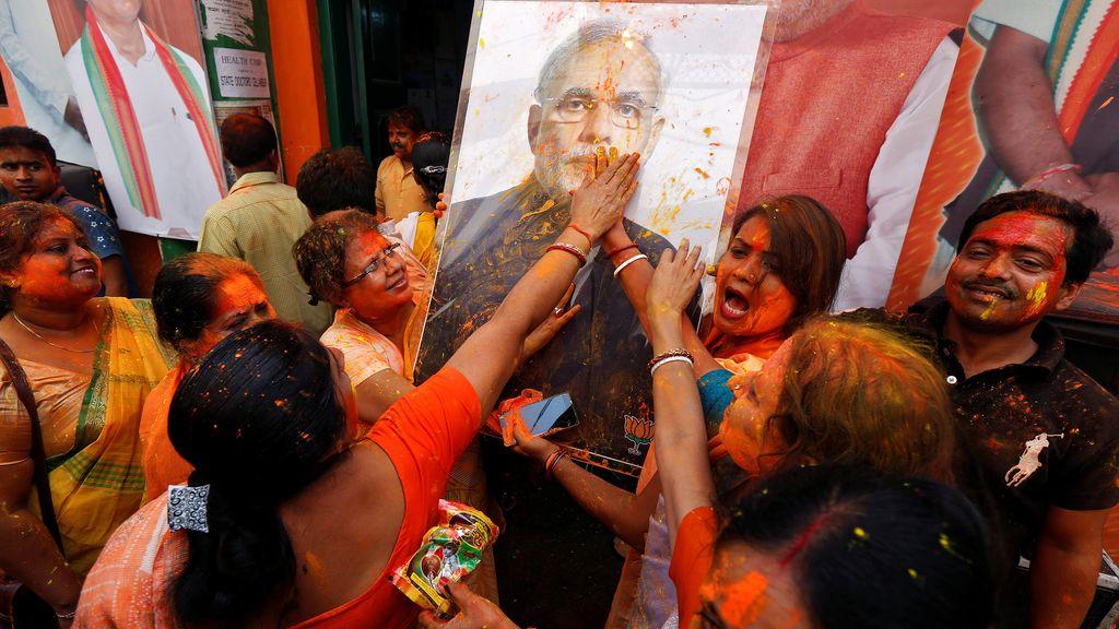 Encuestas electorales en India