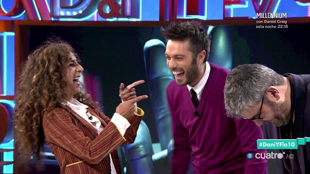 """Rosario y Dani Martínez, cara a cara, en una prueba musical """"to the rewind"""" ⏮"""