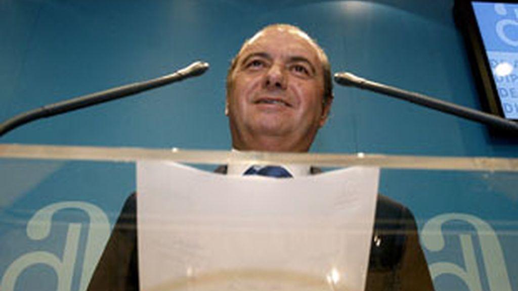 José Joaquín Ripoll, presidente de la Diputación de Alicante. Foto: EFE