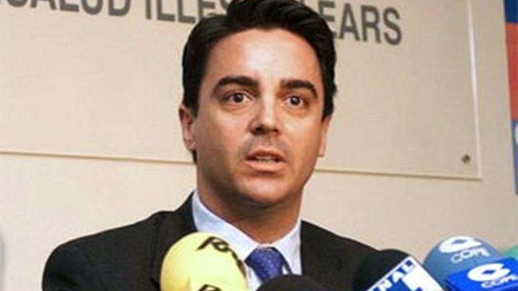 Javier Rodrigo de Santos cuando era concejal de Palma de Mallorca