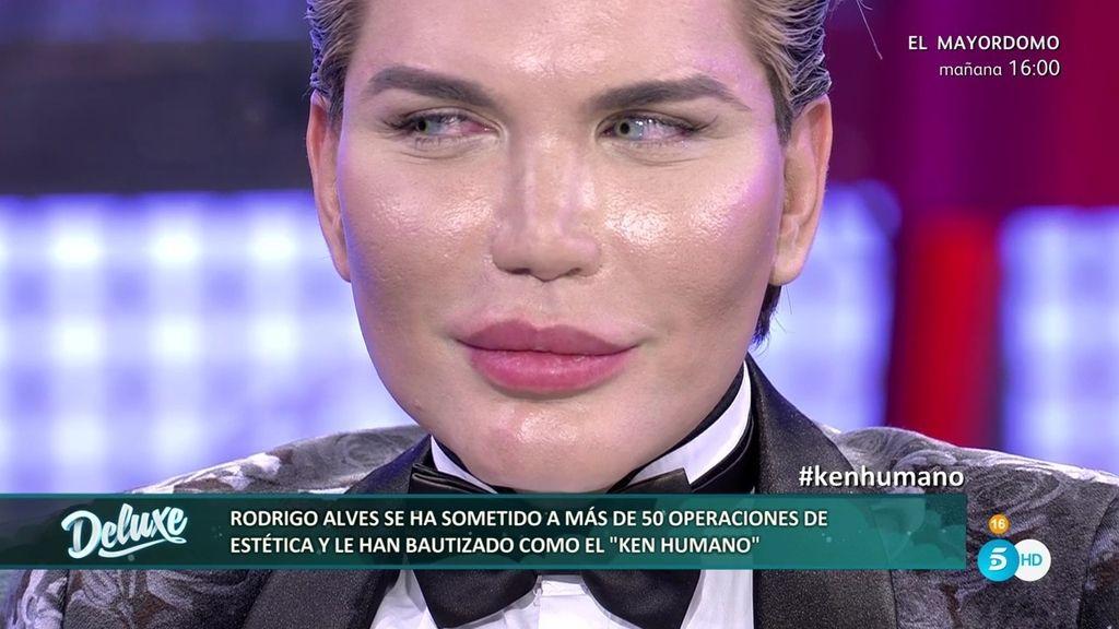 """El 'Ken humano', Rodrigo Alves: """"Cuando me miro al espejo me veo guapo, casi perfecto"""""""