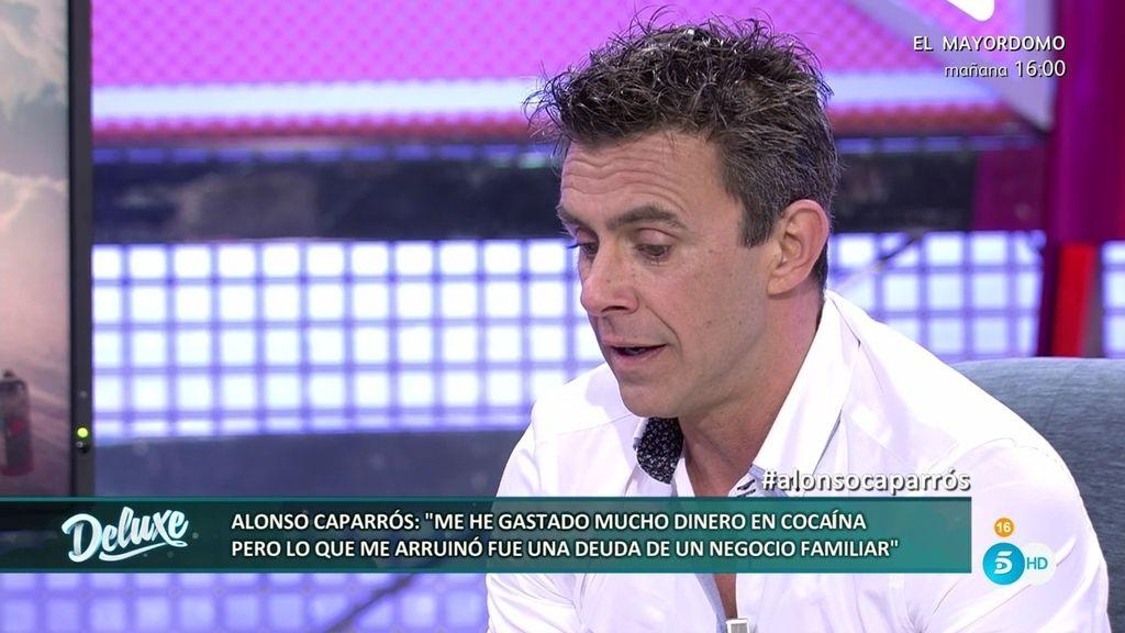 """Los problemas económicos de Alonso Caparrós: """"Compraba zanahorias y patatas"""""""