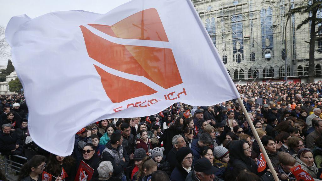 Manifestaciones en Georgia