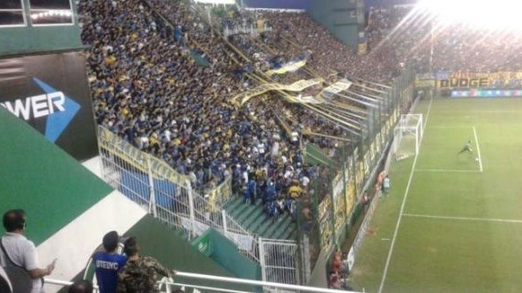 Boca Juniors avalancha