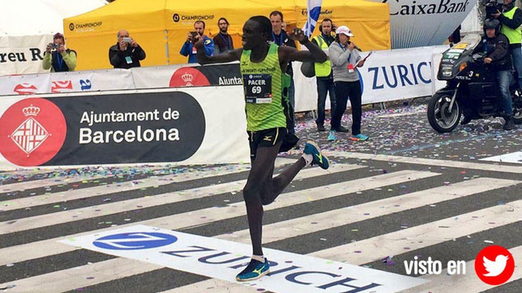 Kipkemoi campeón maratón Barcelona